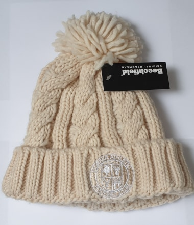 Hats - Child Cable Knit Beanie
