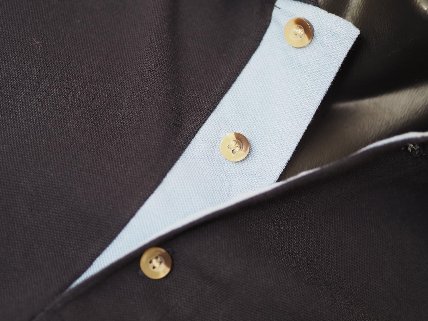 Tops -  Polo Shirt Contrast