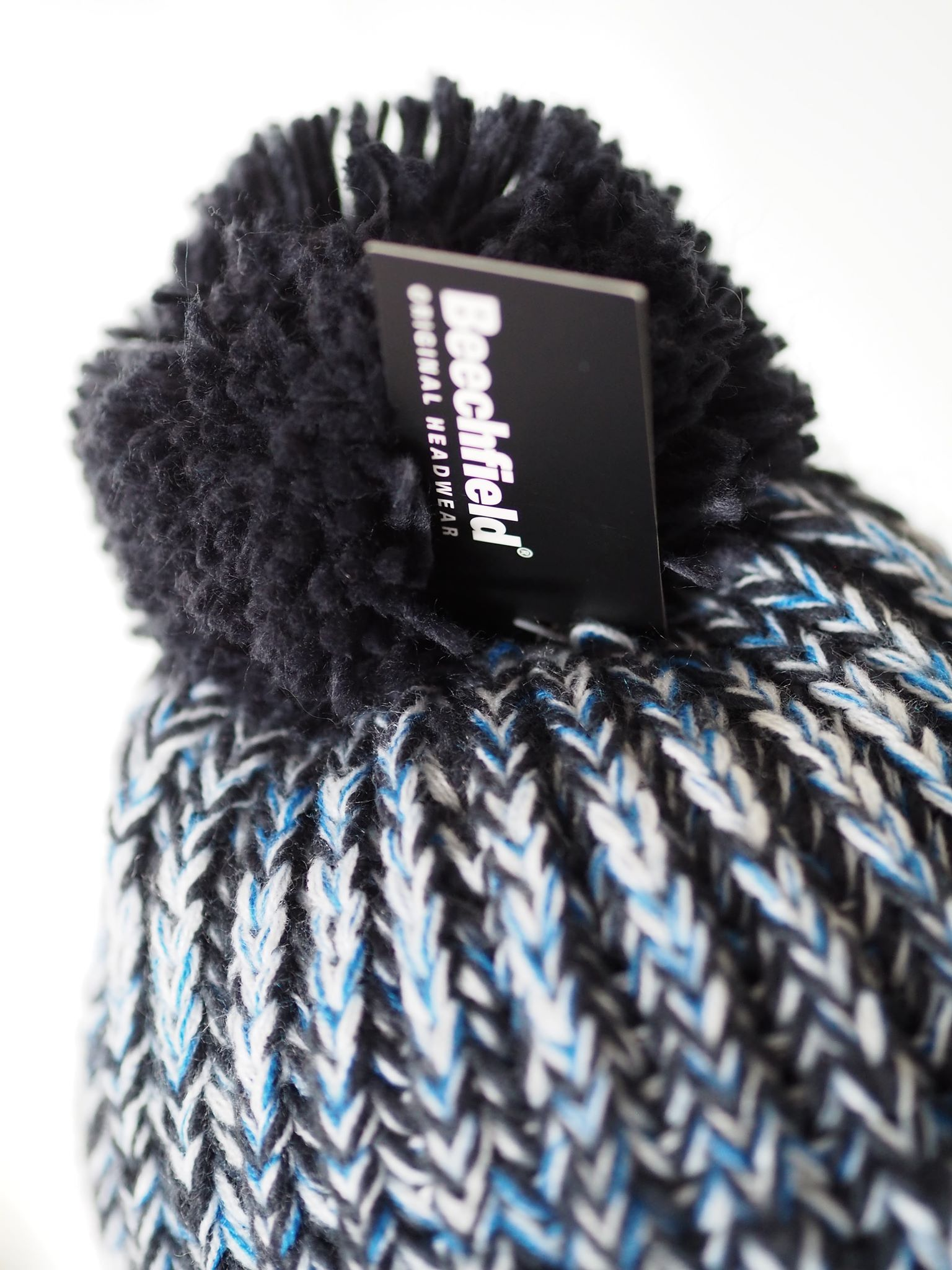 Hats - Twist-Knit Pom Pom Beanie