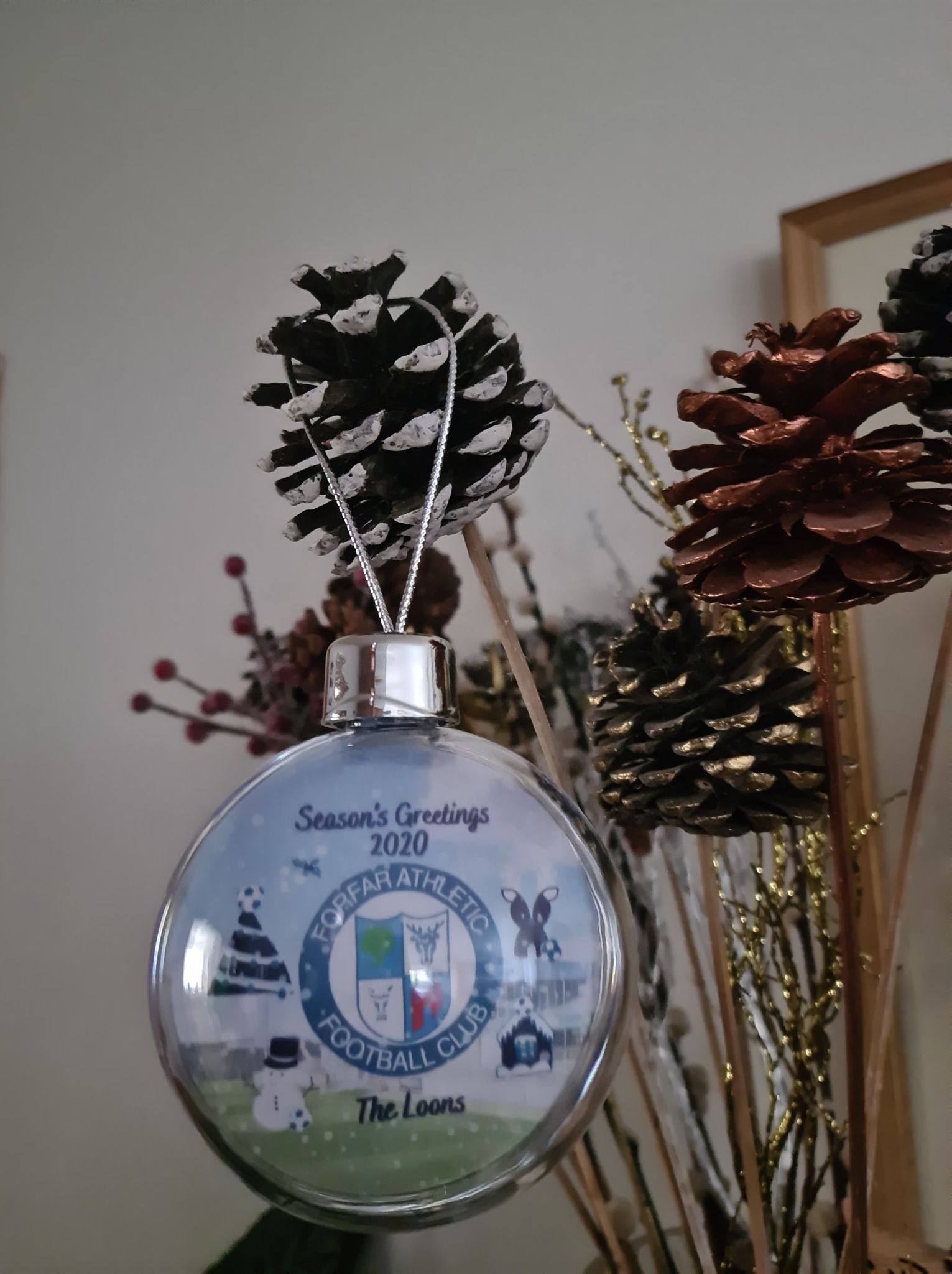 Loons 2020 Christmas Bauble