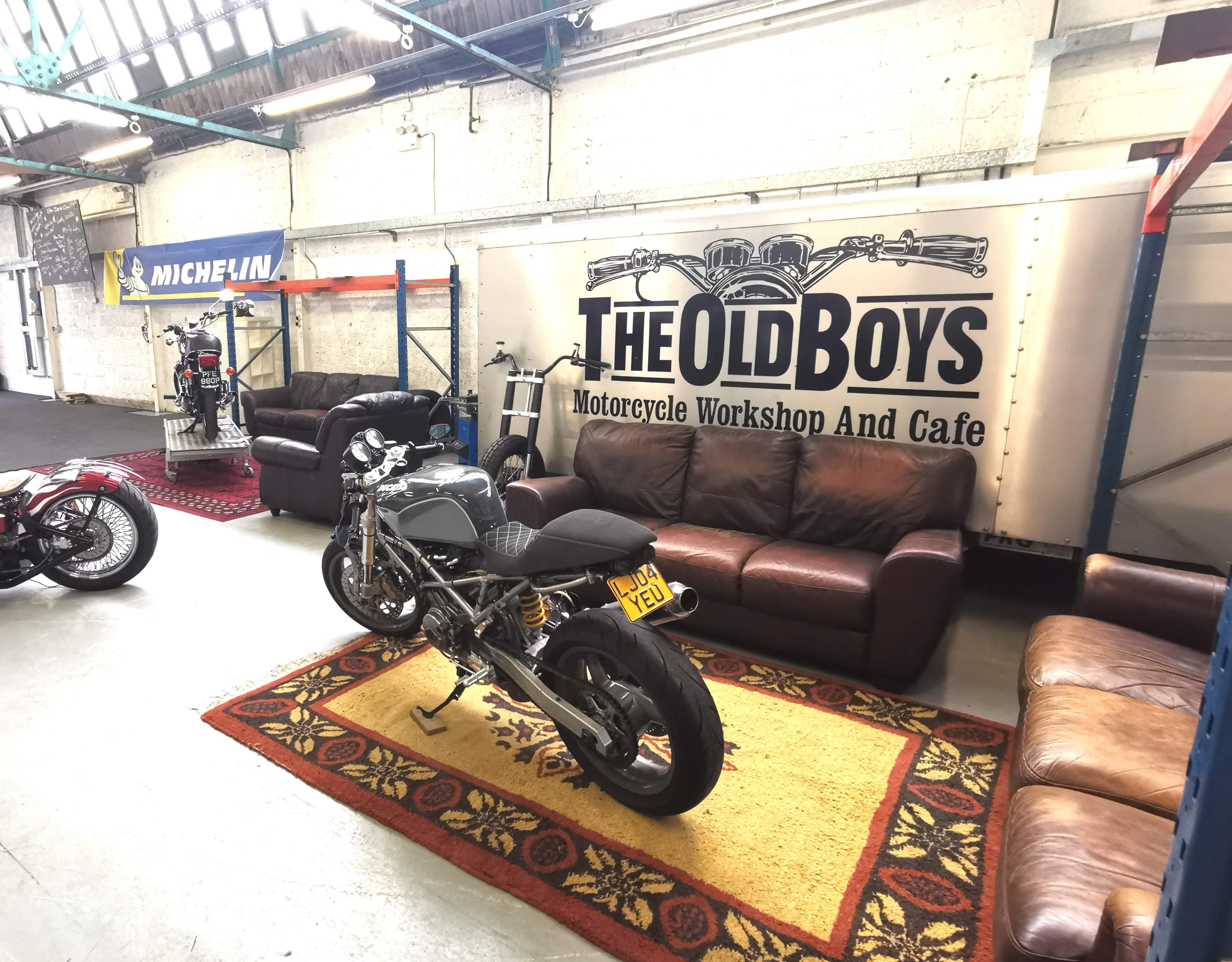The Old Boys Workshop and Cafe Ltd