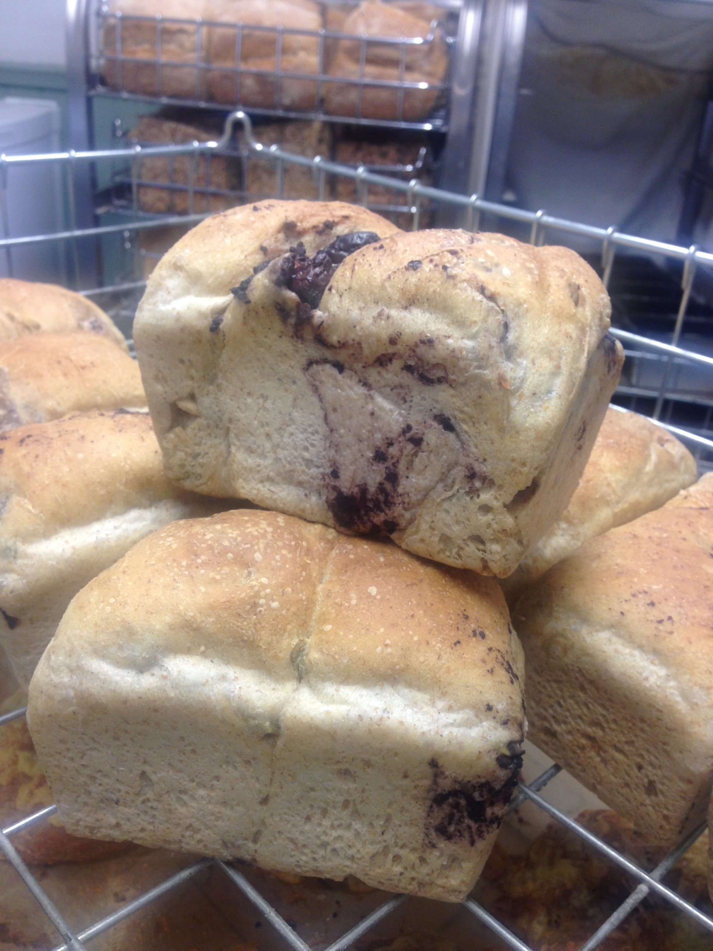 Olive & Pumpkin Seed Bread