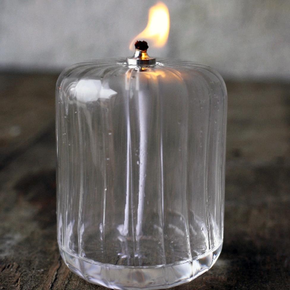 Oljelampa cylinder