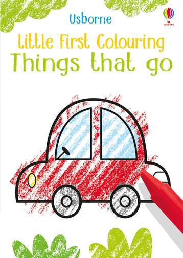 Little First Colouring - Things that Go