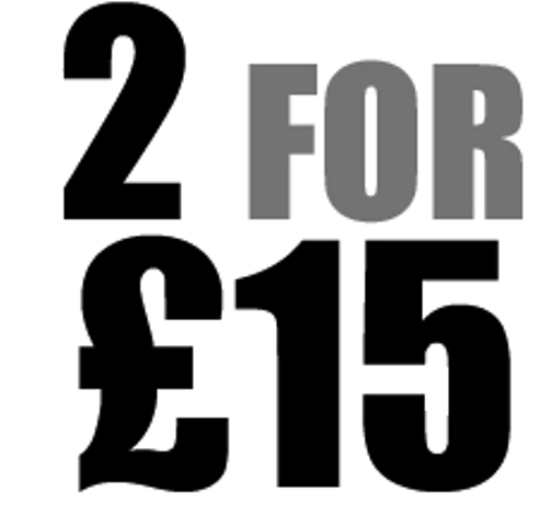 2 for £15 Kits - Select your 2 kits