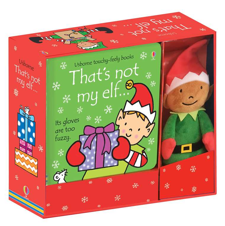 That's Not my Elf Book and Toy