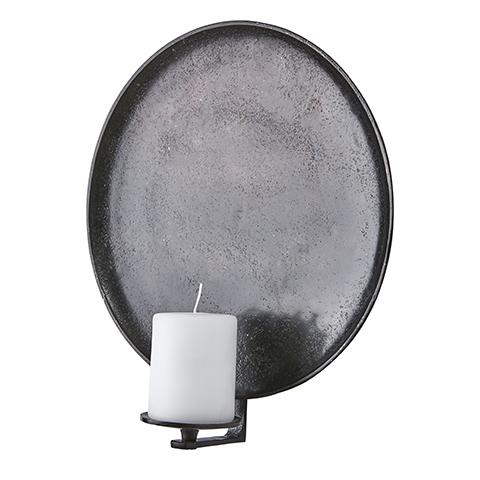 CARTER Väggljushållare Ø35, Mörkbrun