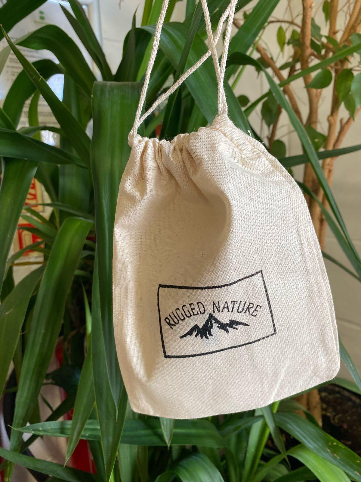 Cotton Drawstring Bag | Rugged Nature