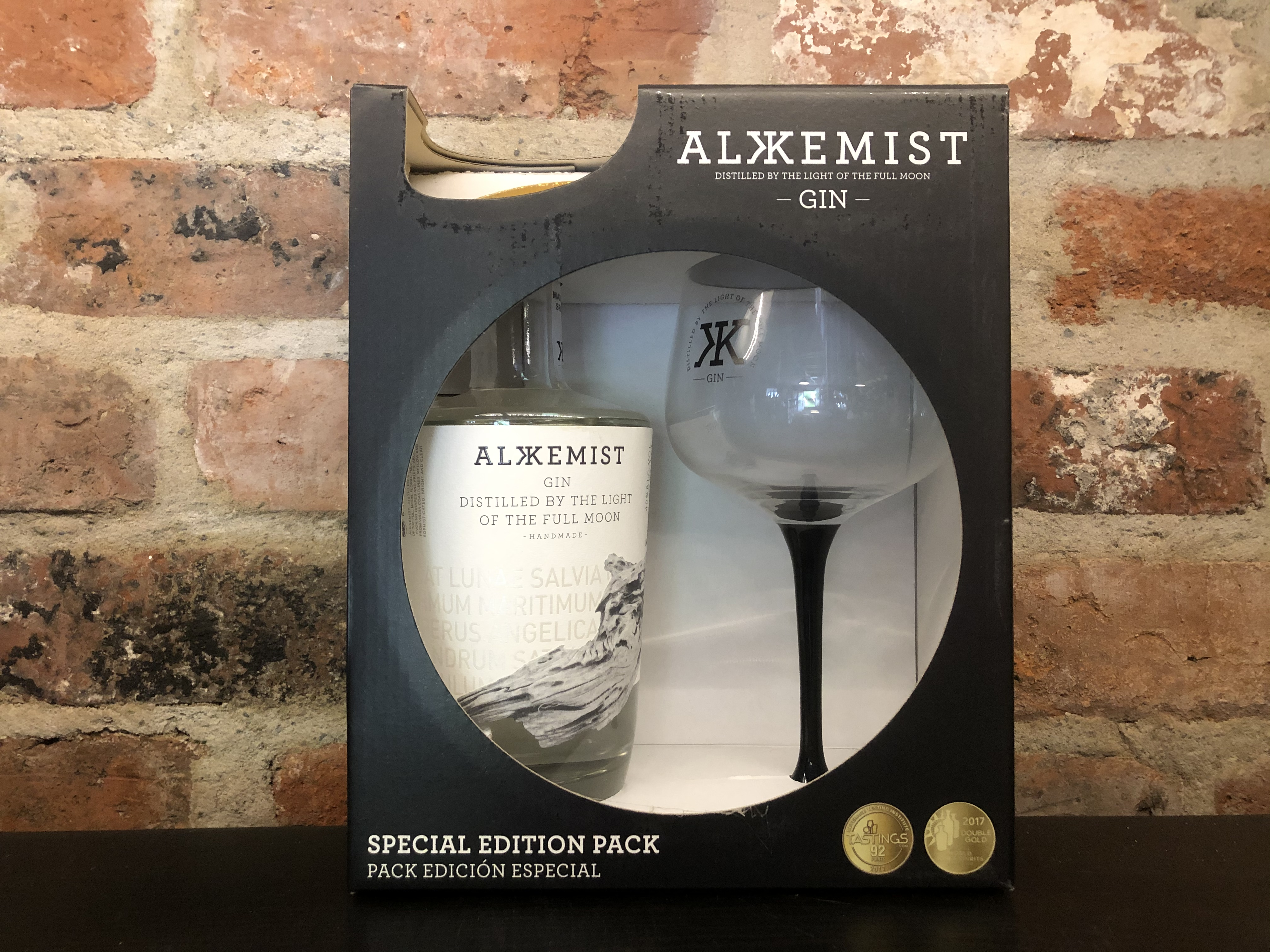 Alkemist Gift Pack with Glass