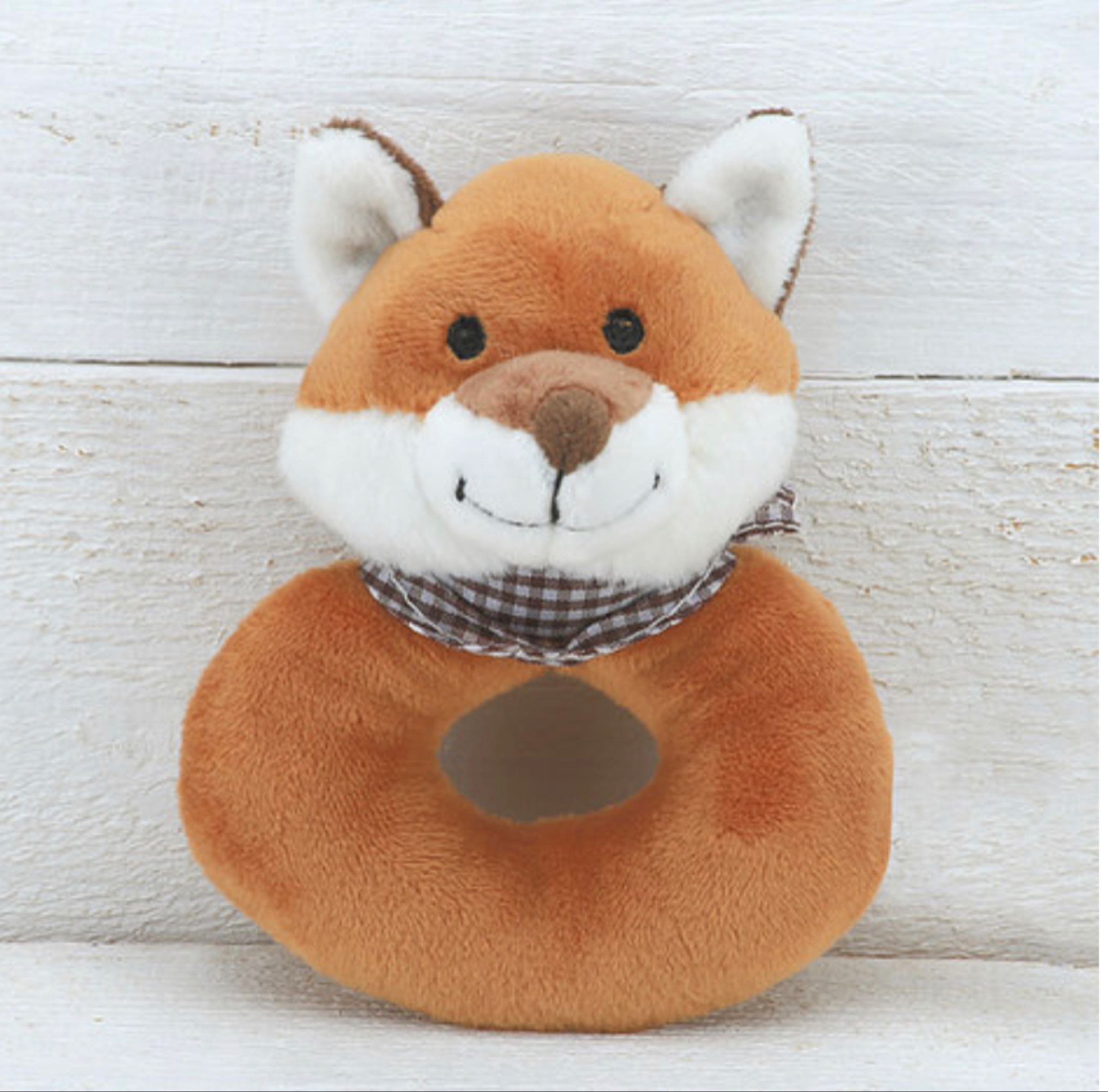 Jomanda Fox Baby Rattle  10cm