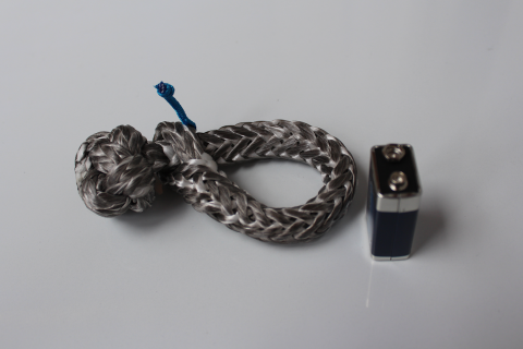 Danler Dyneema snap, blue breaking load 4000daN