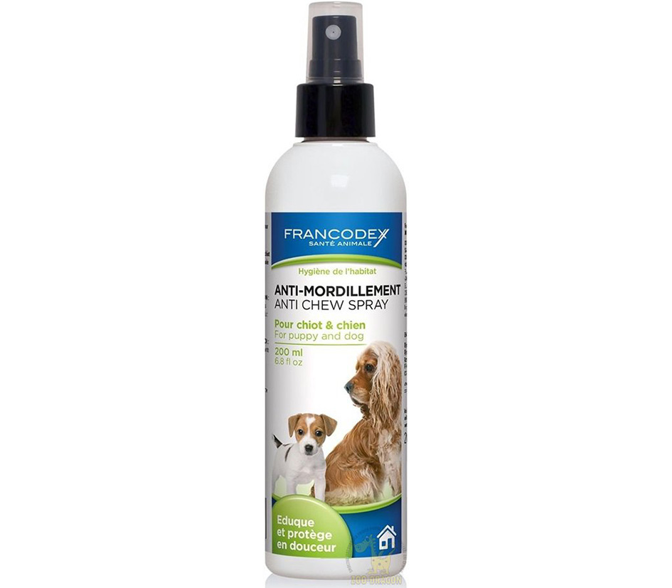 Francodex Dog & puppy anti chew spray 200ml
