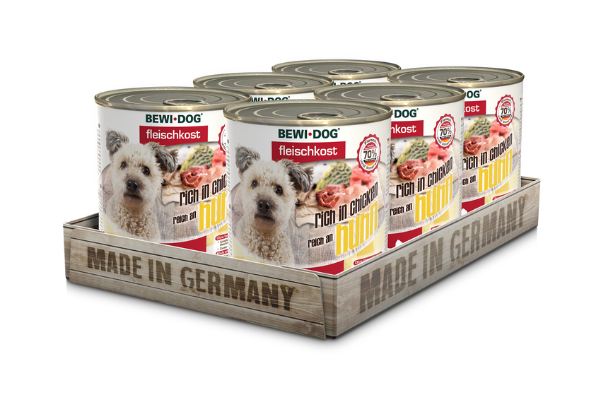 BewiDog 800g/6kpl levy Rich in chicken (kana)