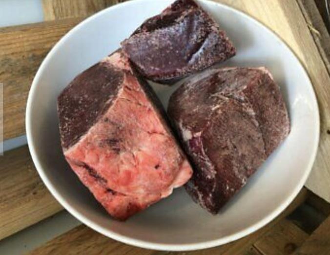 Beef Heart Chunks 1kg