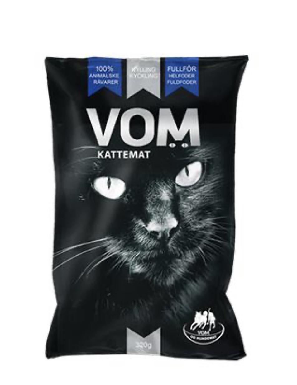 Cat food comp chicken  320g vom