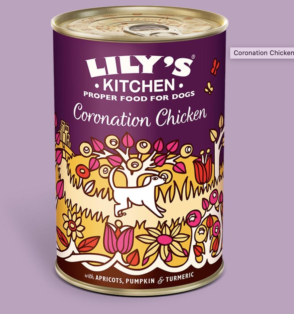 Coronation chicken 400g tin Lily's