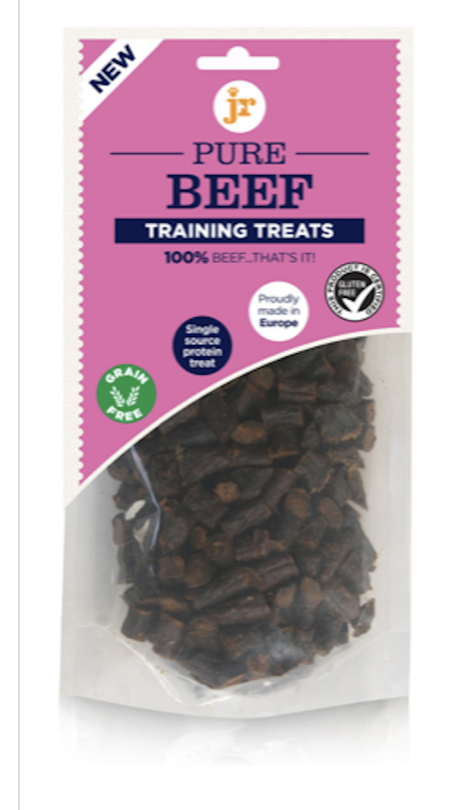 Jr pure beef training treats