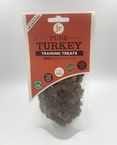 Jr pure turkey training treats