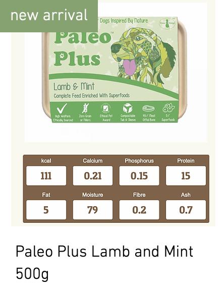 Lamb and Mint PR 500g