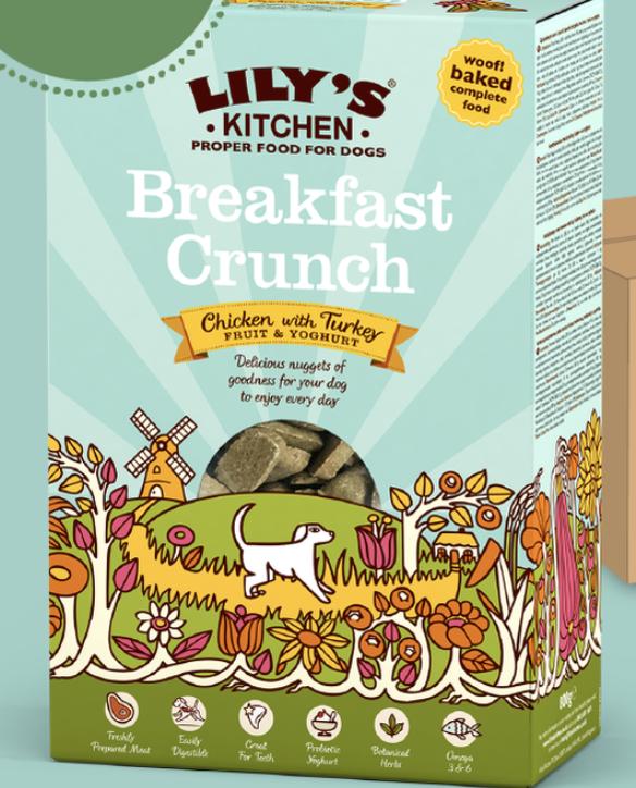 Dog Breakfast Crunch 800g Lily's