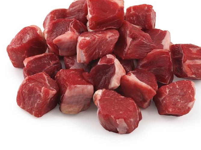 Beef  chunks yr 1kg
