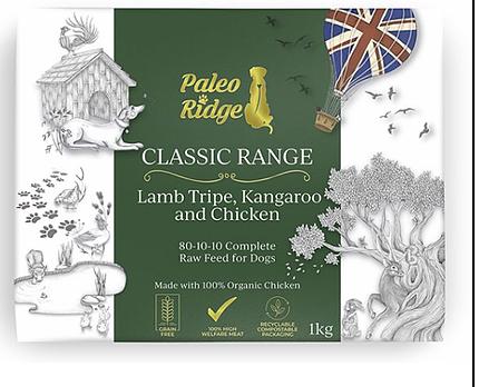 Lamb Tripe Kangaroo & Chicken PR 1kg