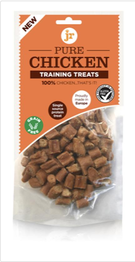 Jr pure chicken training treats