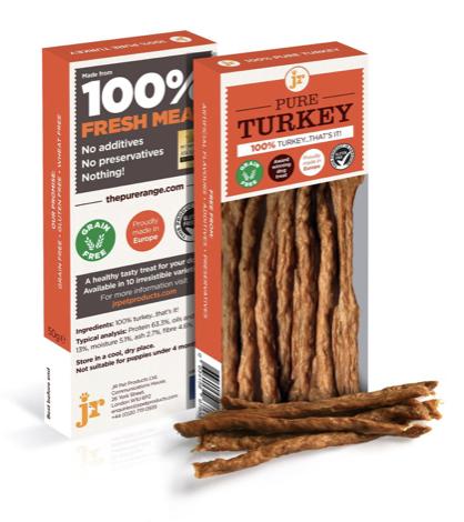 Jr pure turkey sticks