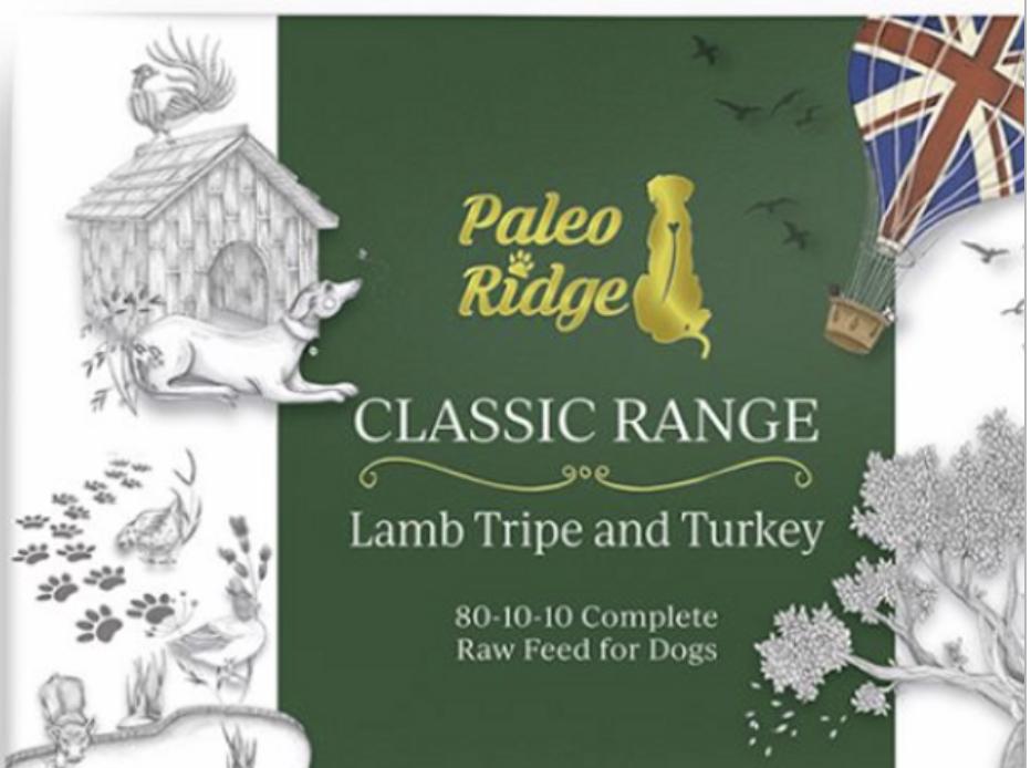 Lamb Tripe and Turkey PR 1kg