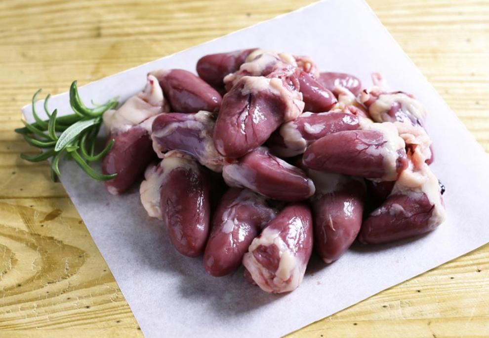 Chicken Heart Chunks