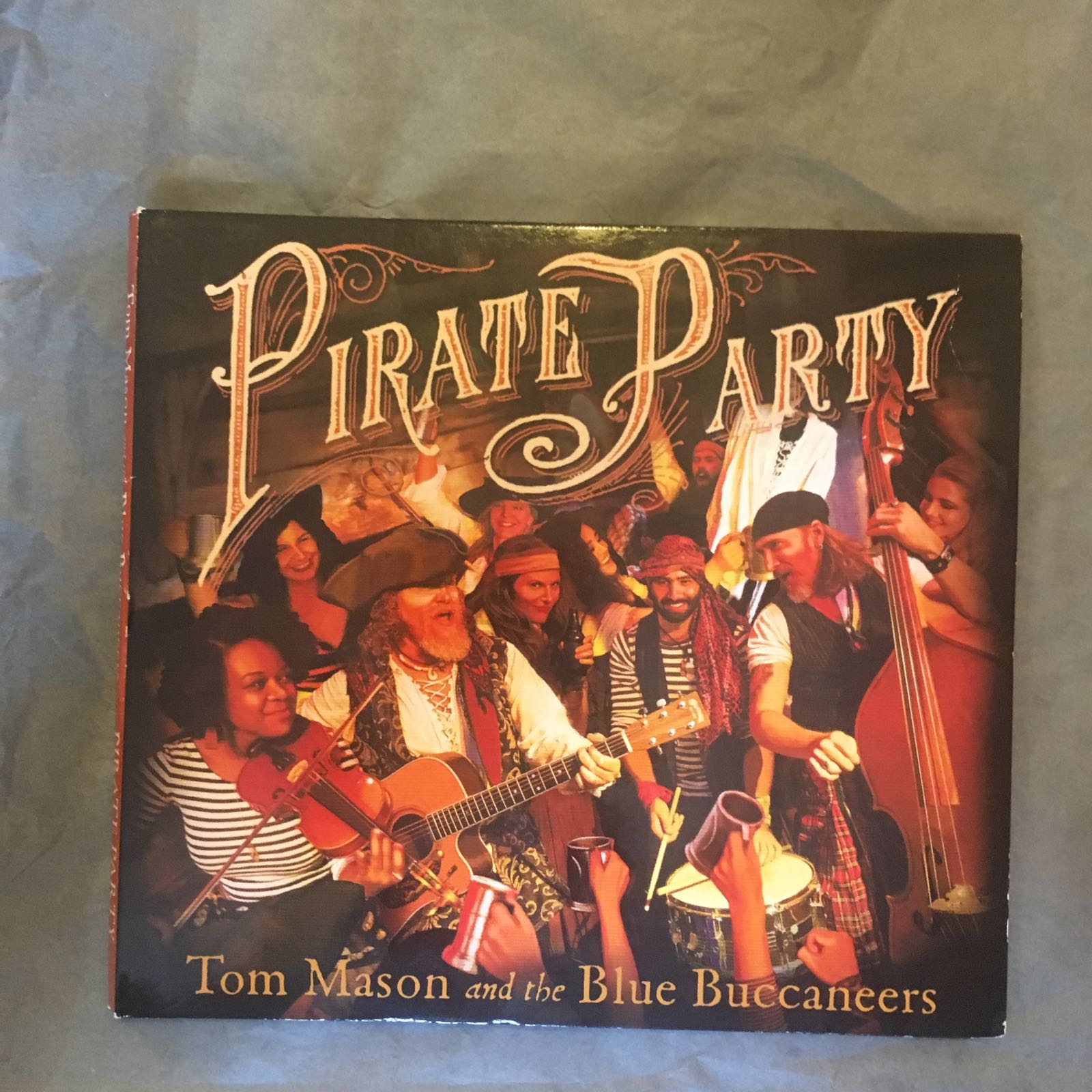 CD - Tom Mason & The Blue Buccaneers, Pirate Party