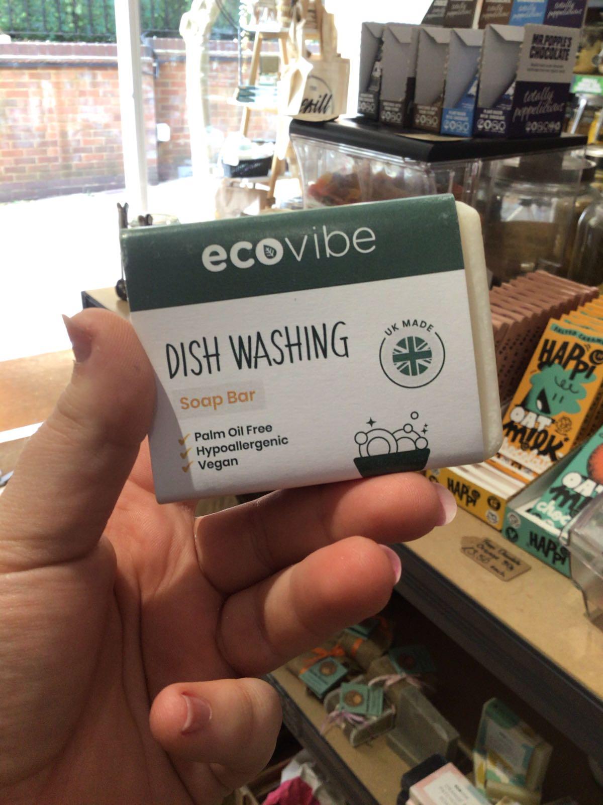 Organic EcoVibe Dish Soap Bar