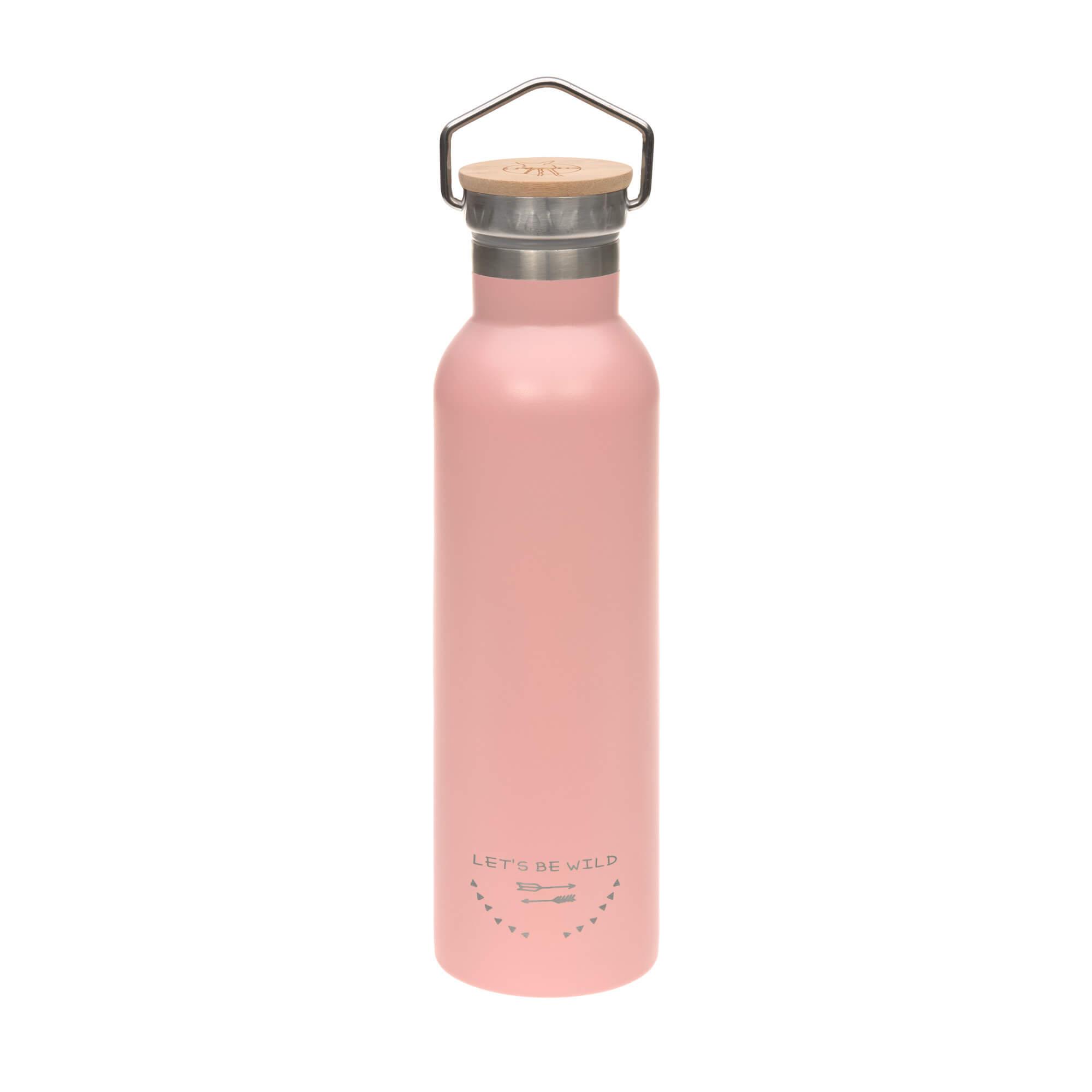 Kinder Trinkflasche Edelstahl (700 ml - Isoliert) - Adventure Rose - Lässig