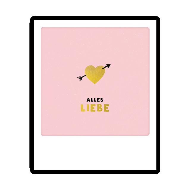 "Kleine-Postkarte ""Alles Liebe"" - MP 0236 - DE - Pickmotion"