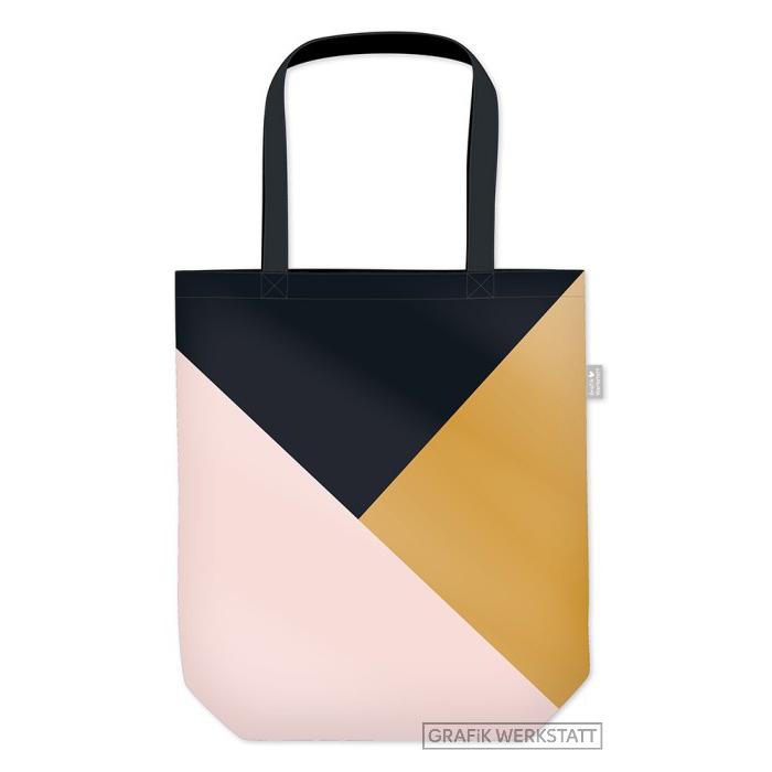 Shopper - Gute Laune Triangle - Grafik Werkstatt
