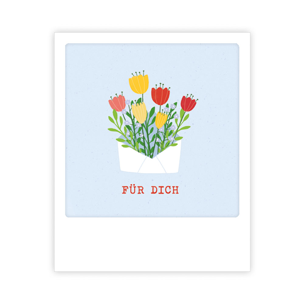 "Kleine-Postkarte ""Für Dich"" - MP 0500 - DE - Pickmotion"
