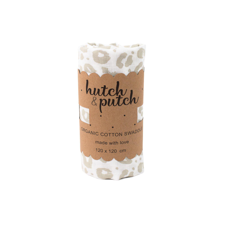 XXL Mulltuch Leo Organic Cotton - hutch&putch