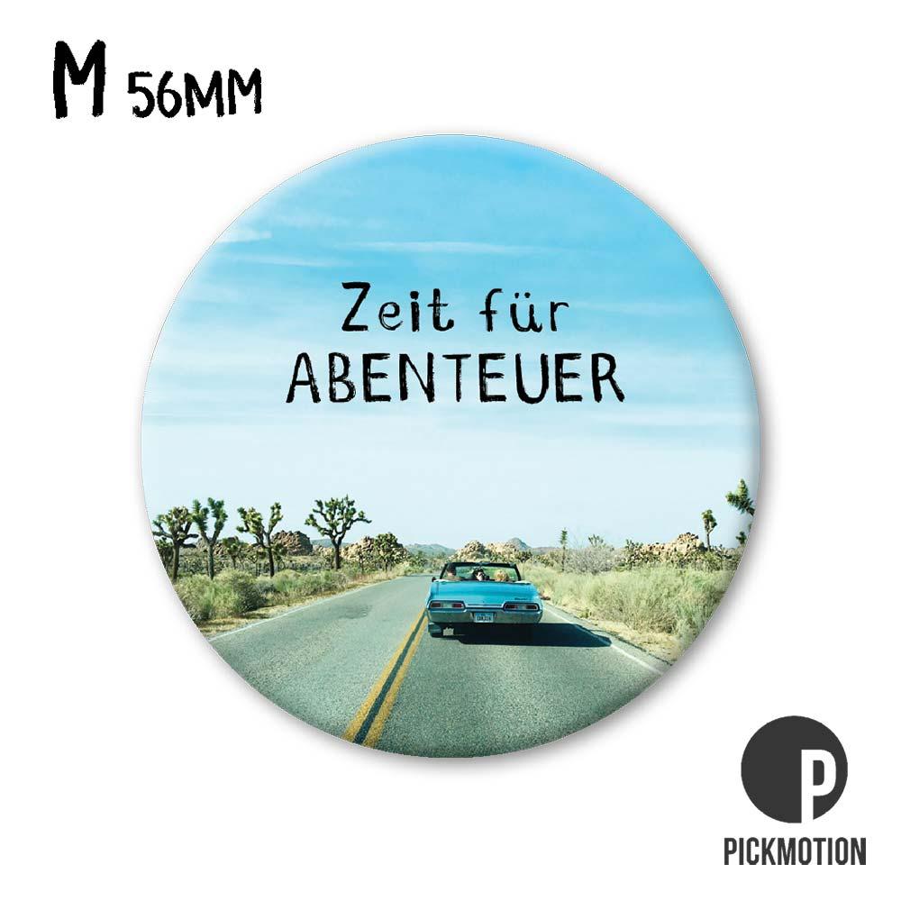 "Kühlschrank-Magnet - Medium - ""Abenteuer"" - MM 0409-DE - Pickmotion"