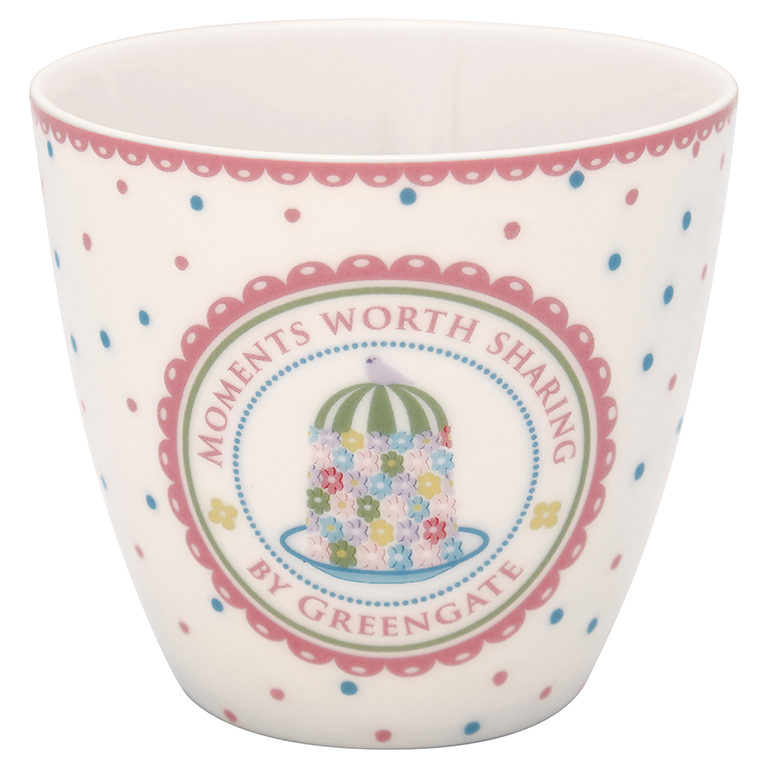 Latte Cup - Tenna white - Greengate