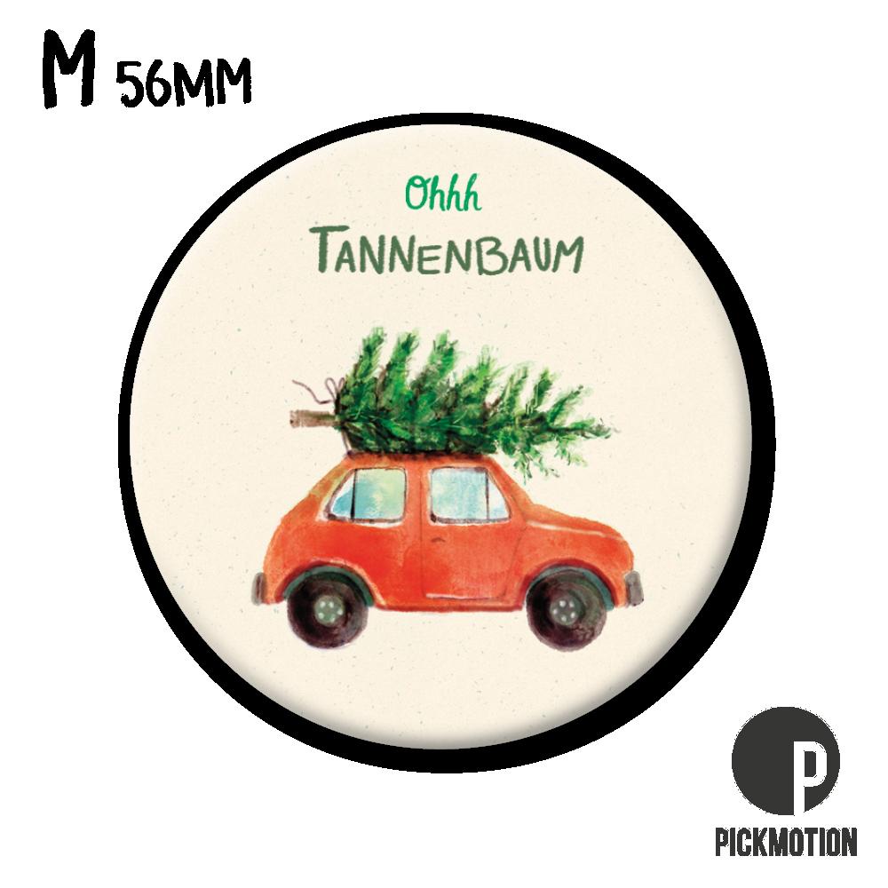 """Kühlschrank-Magnet - Medium - """"Oh Tannenbaum Auto"""" - MM 0832-DE - Pickmotion (Xmas)"""