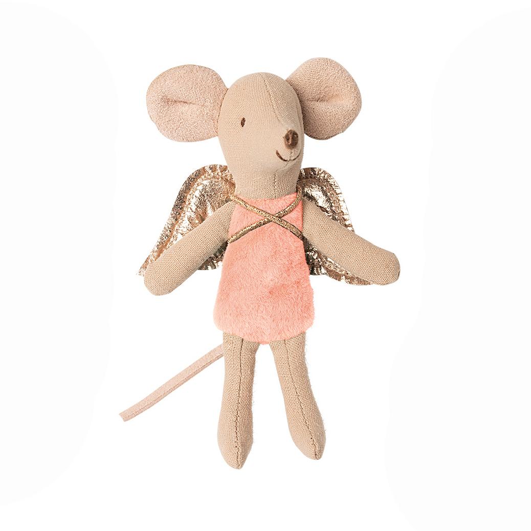 Maus Klein - rosa - Fairy Mouse little - Maileg