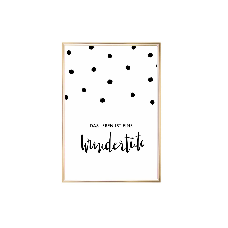Wandbild | Poster - A4 - Wundertüte - Eulenschnitt