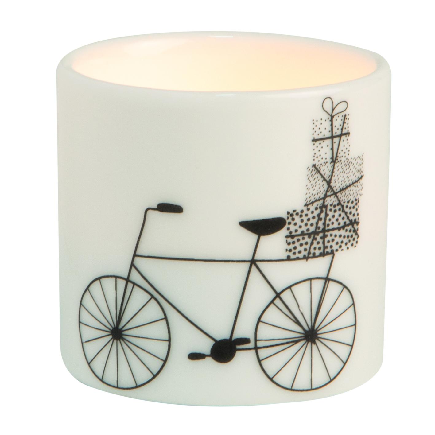 """Teelicht - Helle Freude """"Fahrrad"""" - räder"""