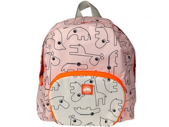Kinderrucksack rosa - Backpack - Contour - powder - Done by Deer