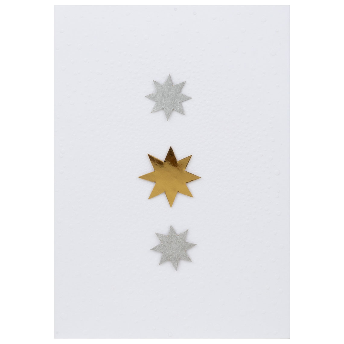 """Sternenkarte """"Drei Sterne"""" - räder (Xmas)"""