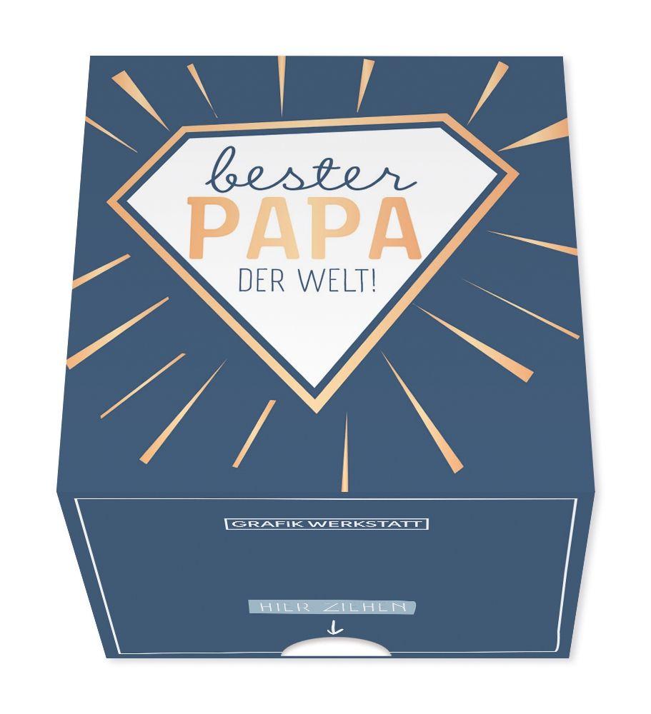 Message in a Box - Bester Papa der Welt - Grafik Werkstatt