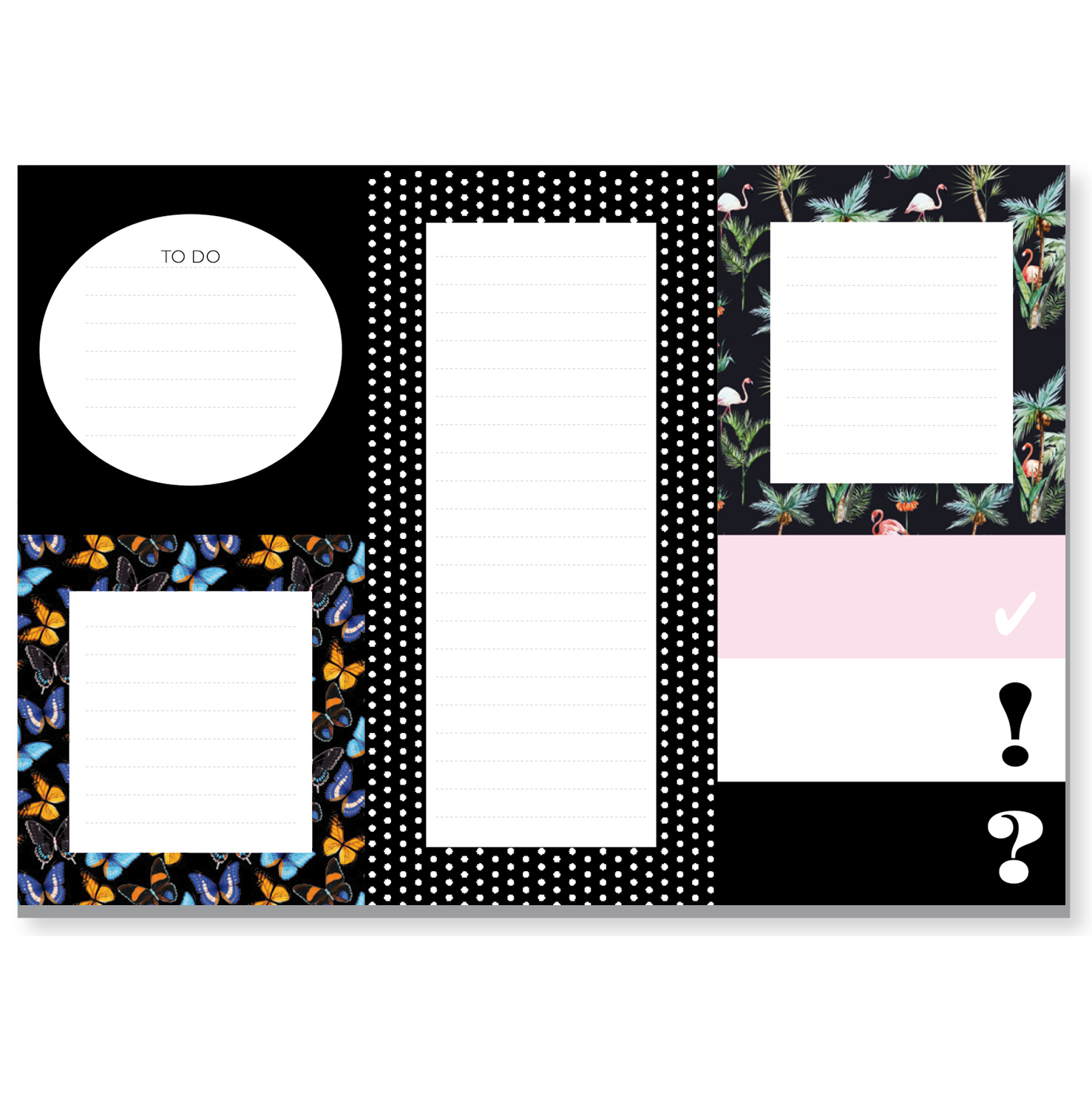 Sticky Notes - schwarz - CEDON