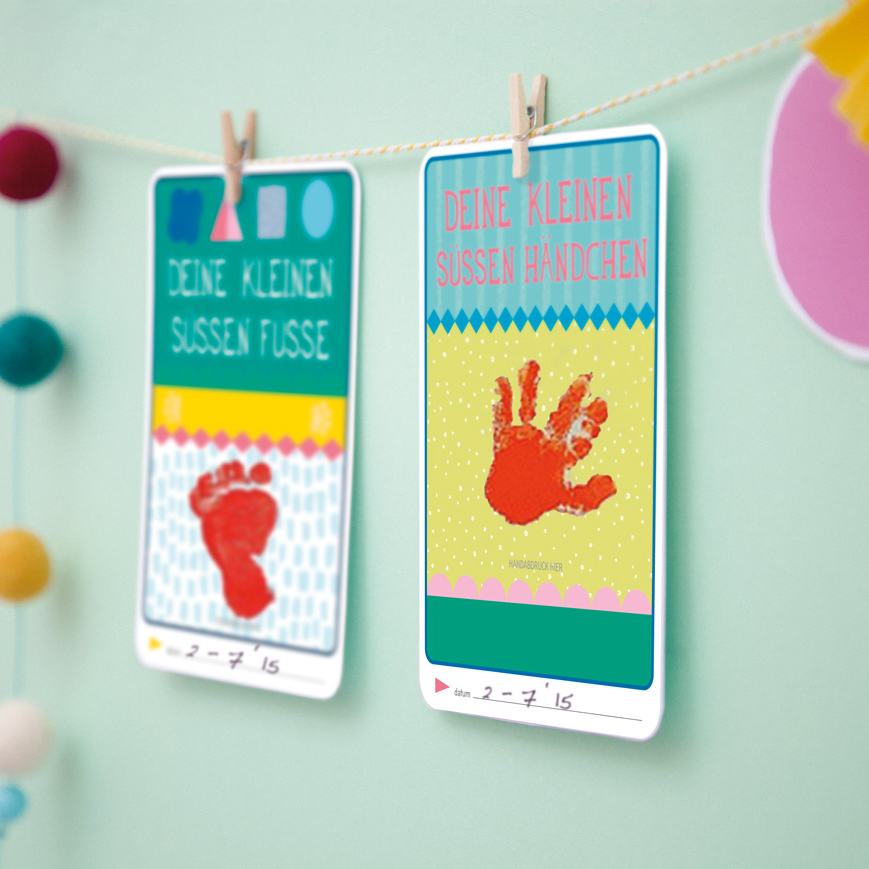 The Original Pregnancy Cards - Milestone
