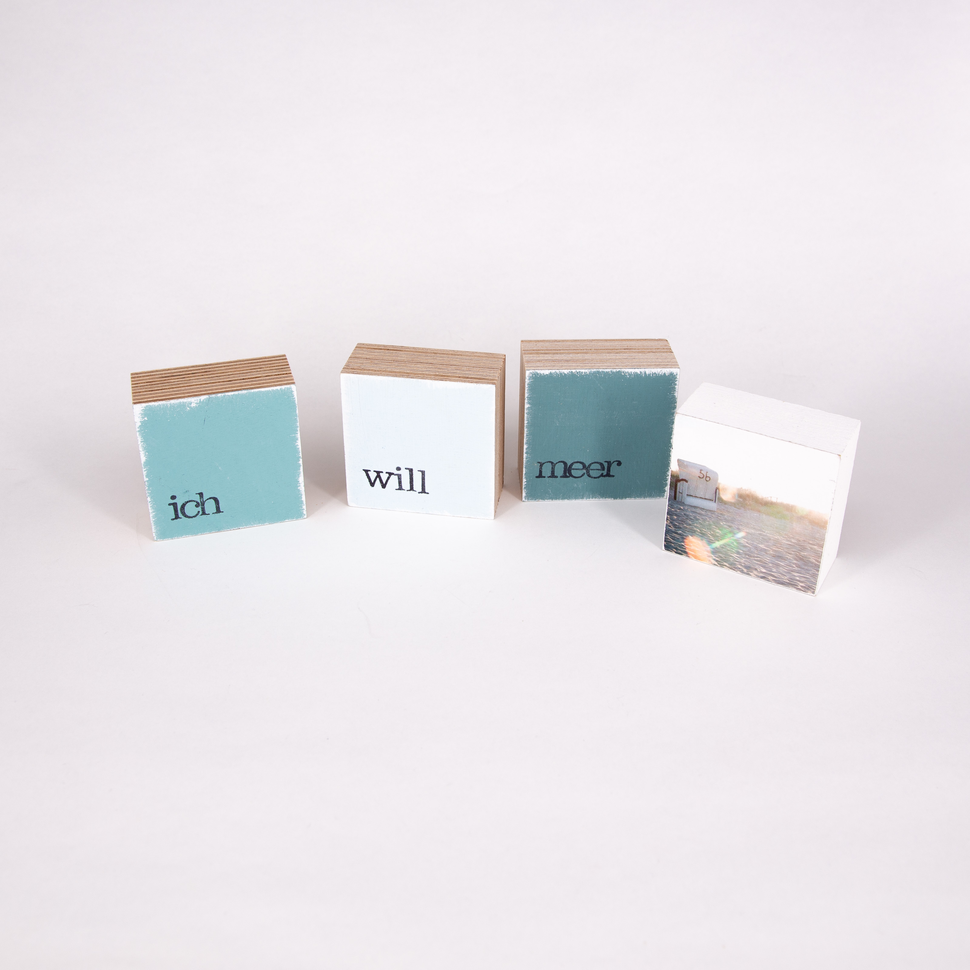 """Mini Textplatte - """"will"""" - iopla"""