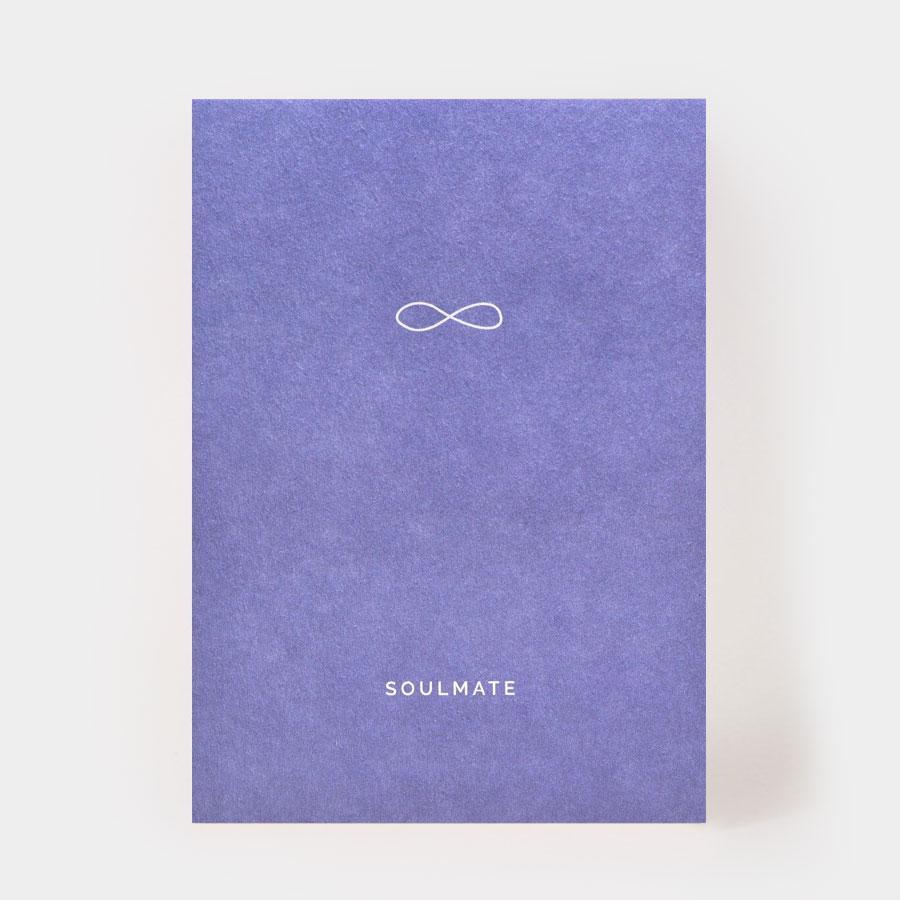 "Postkarte - ""Soulmate"" - Kartenmarie"